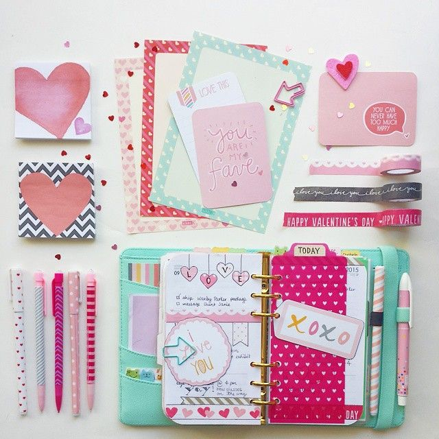 Happy Valentine's Day! #kikkik #kikkikmint #planner #plannerlove #planneraddiction #st...   Use Instagram online! Websta is the Best Instagram Web Viewer!