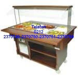 Tavsiye edilen en kaliteli orta tip oteller restoranlar kafeler için soğutmalı açık büfe salata soğutucularının en ucuz fiyatlarıyla satış telefonu 0212 2370749