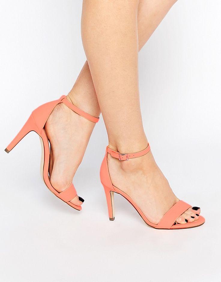 Call+It+Spring+Waylanda+Pink+Two+Part+Heeled+Sandals