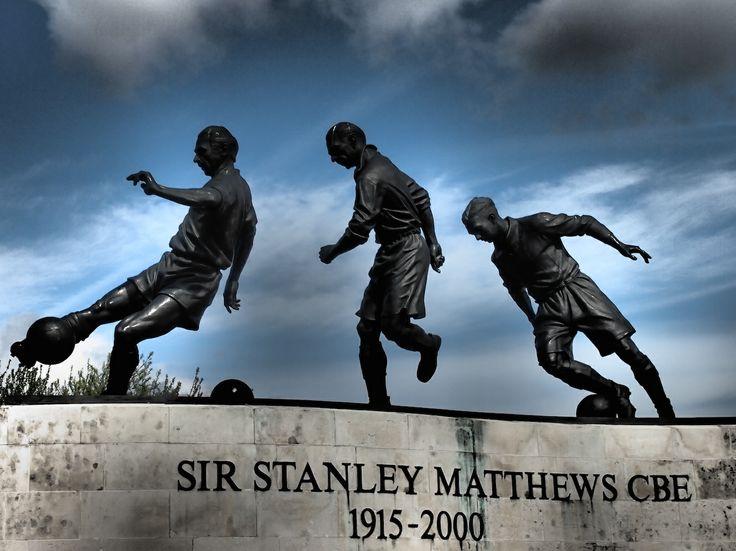 The Sir Stanley Matthews statue. http://www.visitstoke.co.uk/
