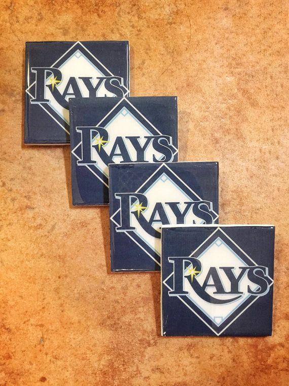 Tampa Bay Rays Coaster Set