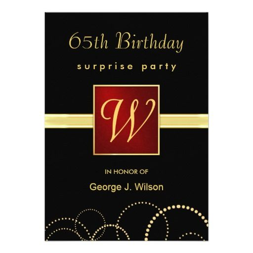 Best Elegant Birthday Party Invitations Images On Pinterest - Birthday invitation gold coast