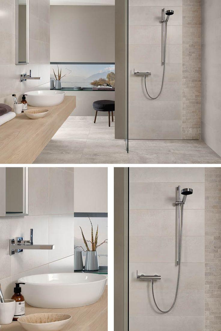 Schöne, moderne #Fliesen sind entscheidend für den Gesamteindruck deines neuen Badezimmers. Auf www.wohn-dir-was.de findest du #Inspiration, #Tipps und Checklisten rund ums Thema #Bad .   Bildmaterial (c) Villeroy & Boch Fliesen