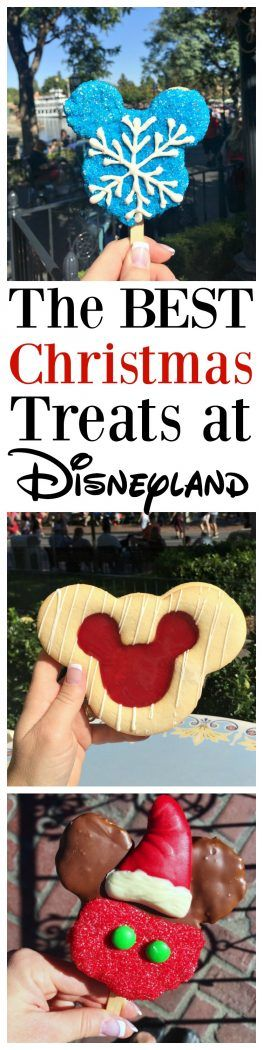 The Best Christmas Treats at Disneyland Park 2016.  Don't miss all of these cute goodies!!