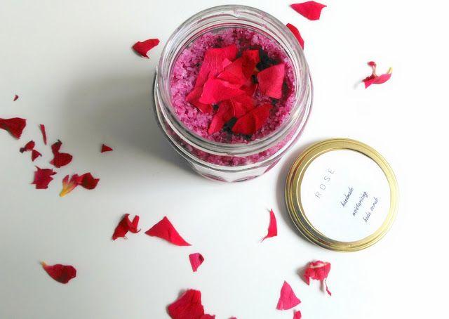 inspiracionistas: Exfoliante caseiro de rosas