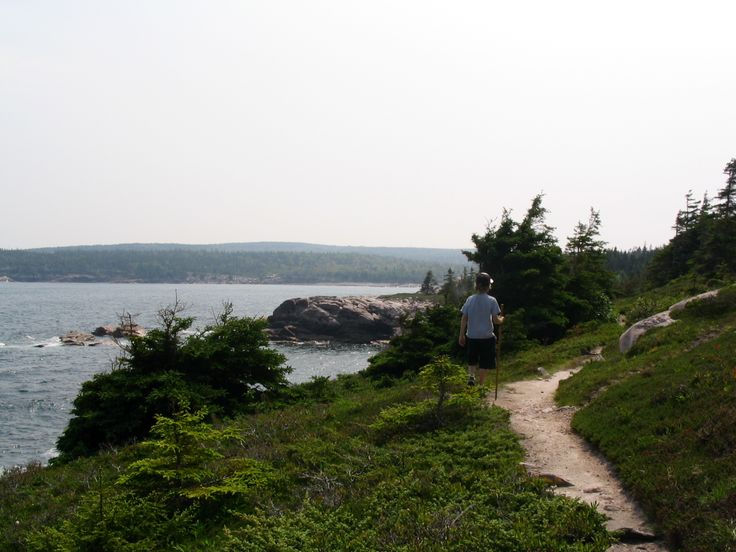 The Coastal hiking trail in the Cape Breton Highlands Park in Cape Breton.  This trail is on the east side of the park located between Neil's Harbour & Ingonish.  A great hike along the coast!