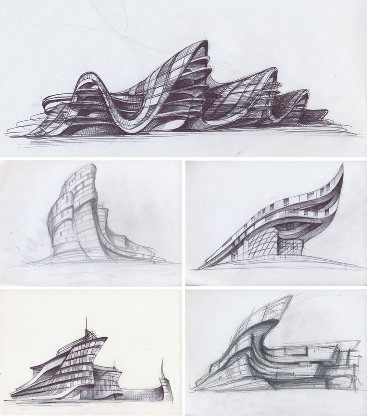 Best Architectural Sketch S Images On Pinterest Architecture