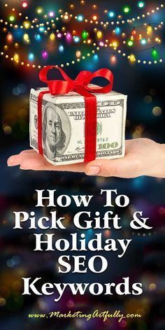 How To Pick Gift And Holiday SEO Keywords | I have a great little retail Etsy Shop called Work Necklaces (https://www.etsy.com/shop/worknecklaces) that I am gearing up for the Christmas rush. With that in mind, I want to know which keywords people might be using to search for presents for their loved ones, friends and colleagues.