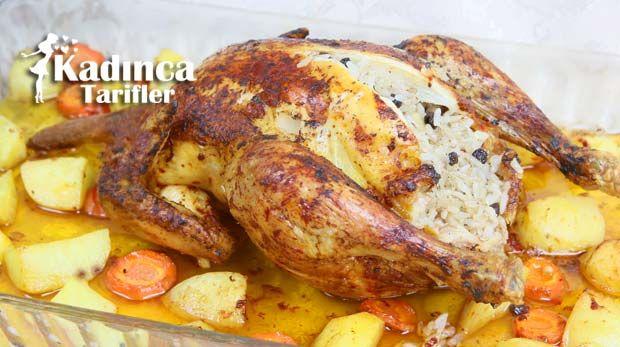 İç Pilavlı Tavuk Dolması Yapılışı