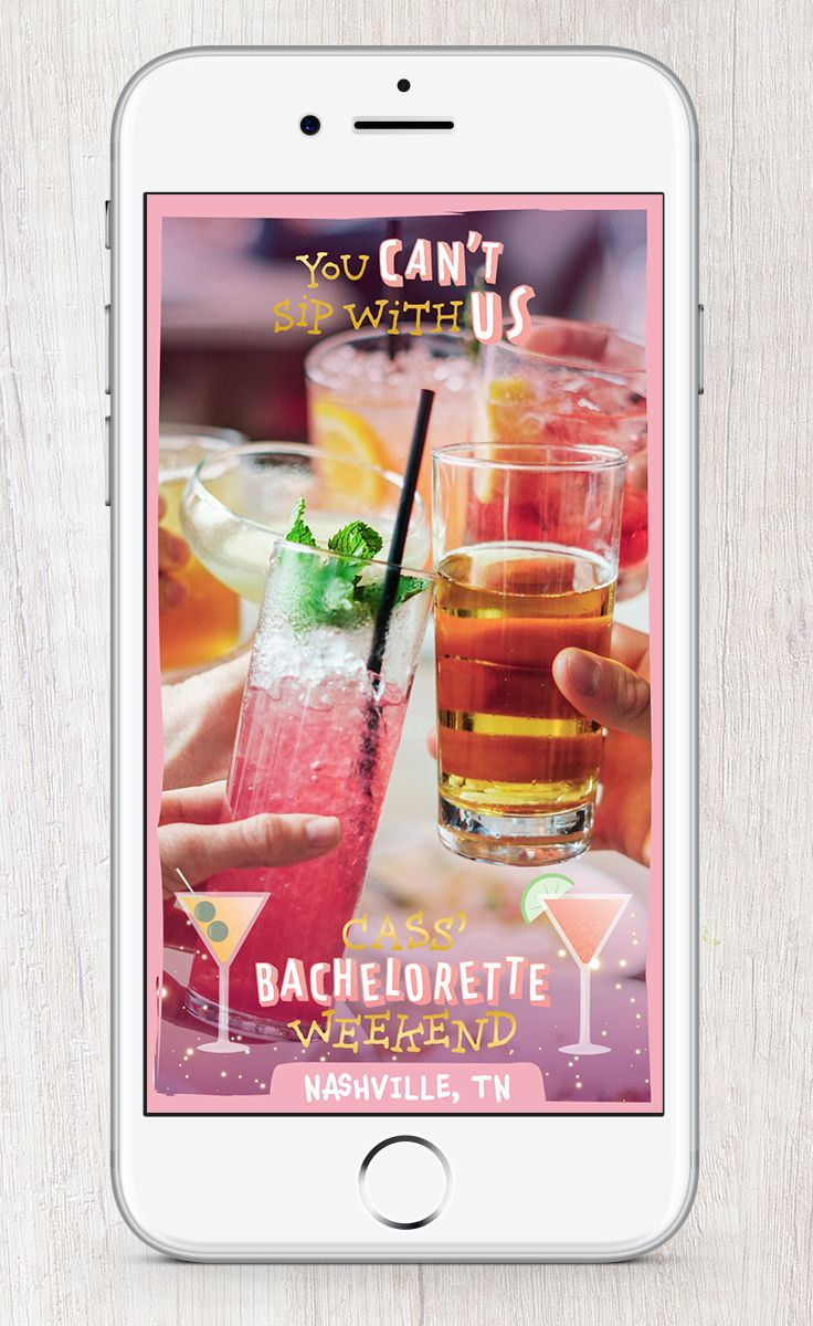 Snapchat filters for your bachelorette party! #bride #bachelorette #bacheloretteparty #wedding #geofilter #snapchat #snapchatfilter