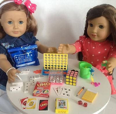 For-18-American-Girl-Doll-Mini-Games-Game-Night-Accessories-Set