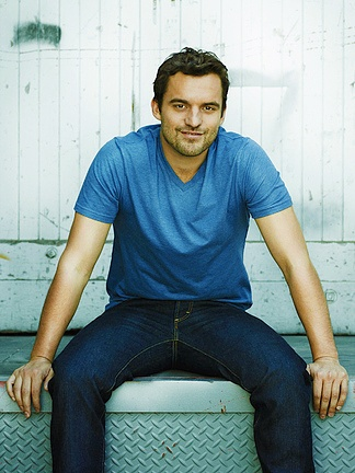 Jake Johnson- my current crush. It's Nick Miller time.