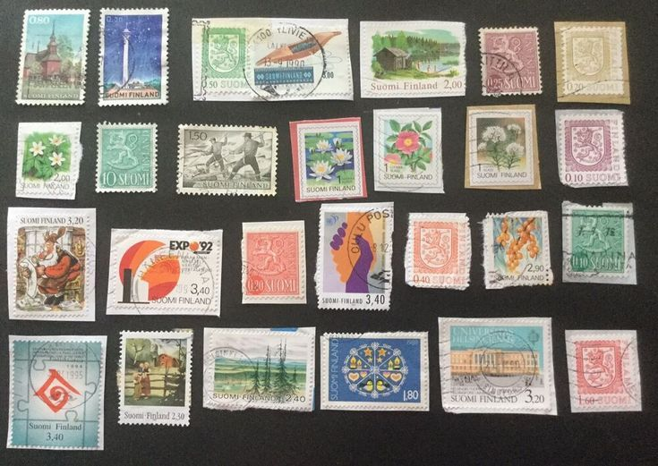 Finland postage stamps x 27 – #Finland #postage #S…