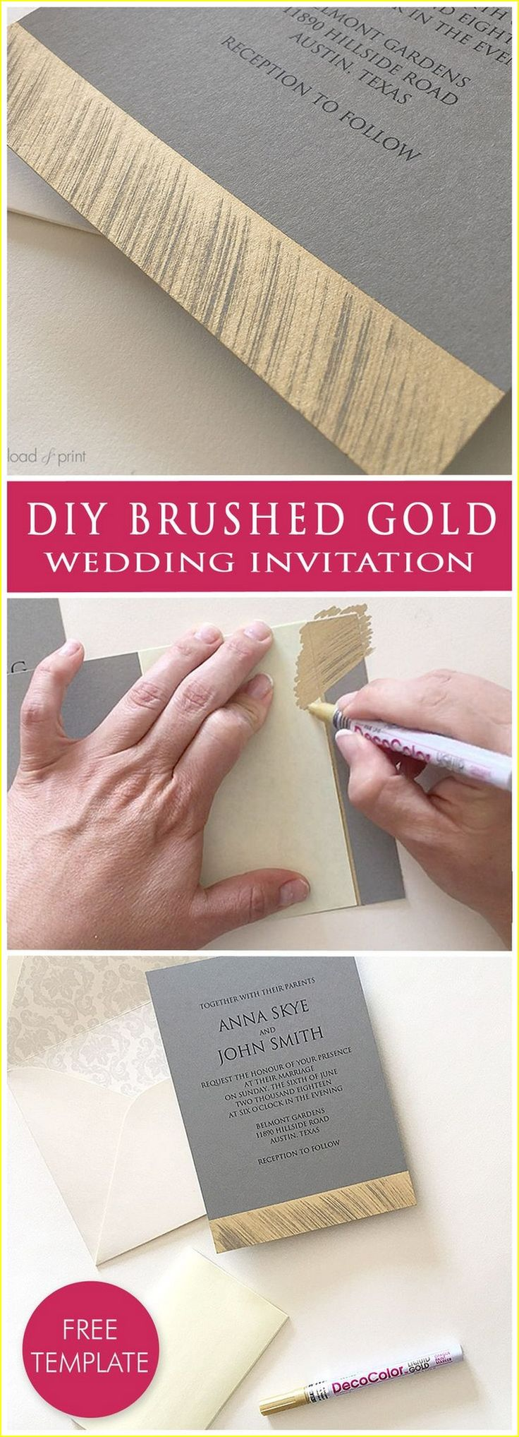 Choosing 50 Good DIY Weddings Invitations 37