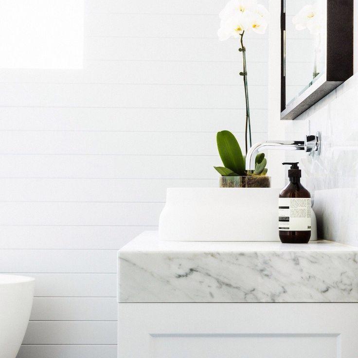 Marble slab, planning, fresh white