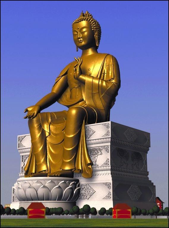 Kushinagar | Maitreya Buddha Project - SkyscraperCity- Yet to be built. This…