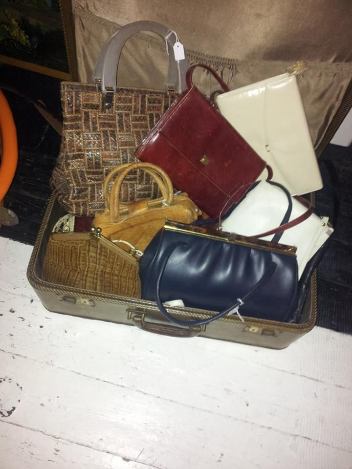 we have vintage handbags coming out of our ears! £7 each