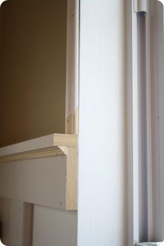 top shelf (board & batten)