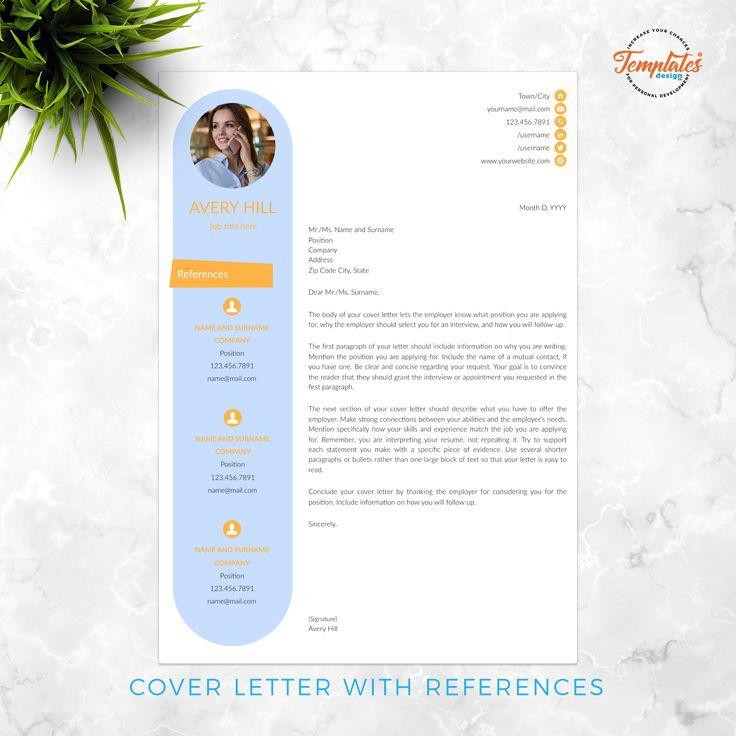 resume template for ms word   docx   u0026 pages   pages  with