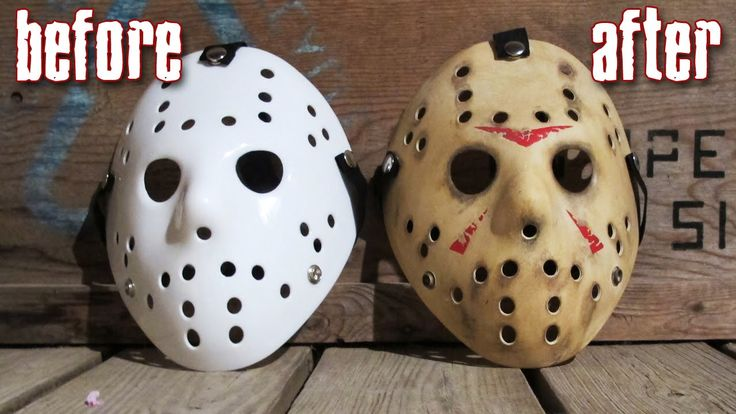 How to Make a Killer Jason Mask for Under $25 - Friday The 13th DIY Pain...