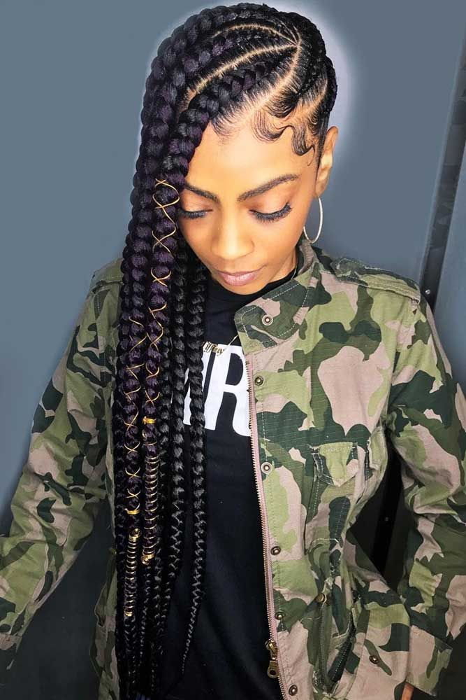 50 Cute Cornrow Braids Ideas To Tame Your Naughty Hair Cornrow Hairstyles African Braids Hairstyles Braided Hairstyles