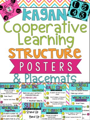 Kagan Cooperative Learning Posters & Placemats from The Behavior Bunch on TeachersNotebook.com (38 pages)