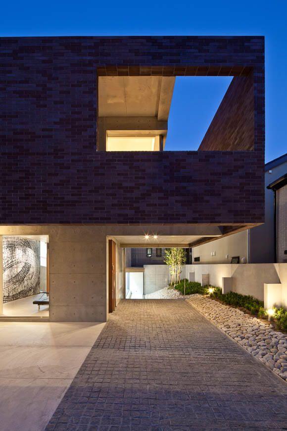Die Besten 17 Bilder Zu Architektur Auf Pinterest | Haus-design ... Mauerwerk Als Sichtschutz Haus Design Idee