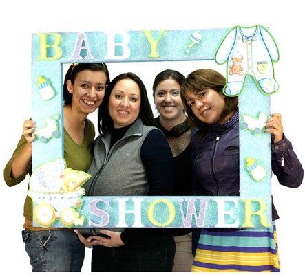 Mega Marco para Baby Shower / Fotos / Idea original / photobooth