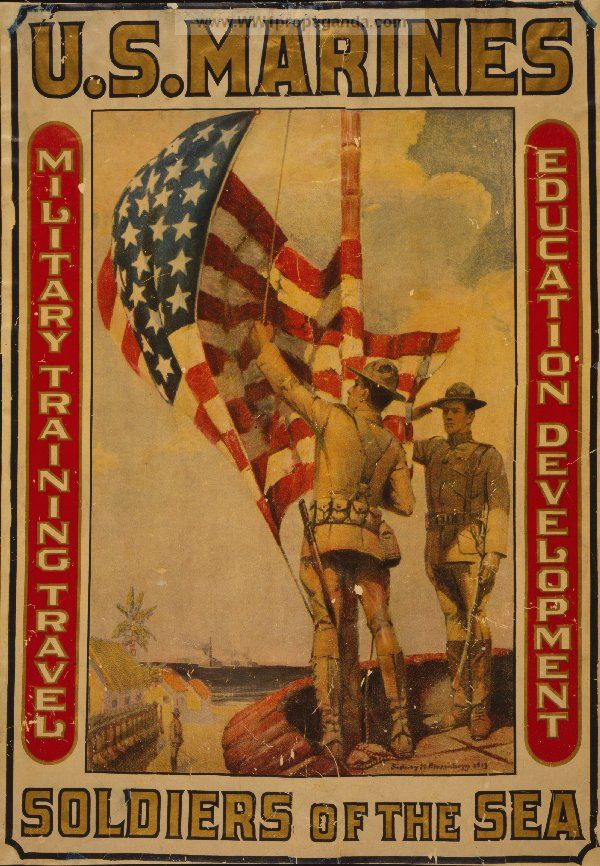 Examples of Propaganda from WW1 | WW1 Marine Posters Page 3