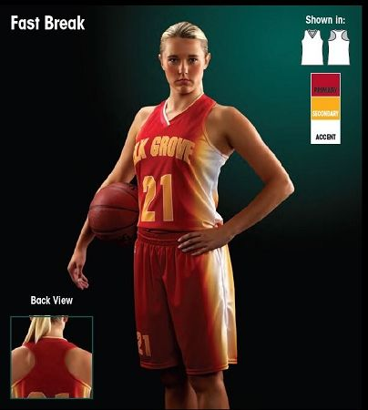 Teamwork Custom Basketball Uniforms Women/Girls
