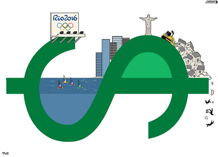 'Olympics in Brazil' by Tjeerd Royaards: A perspective on Rio 2016