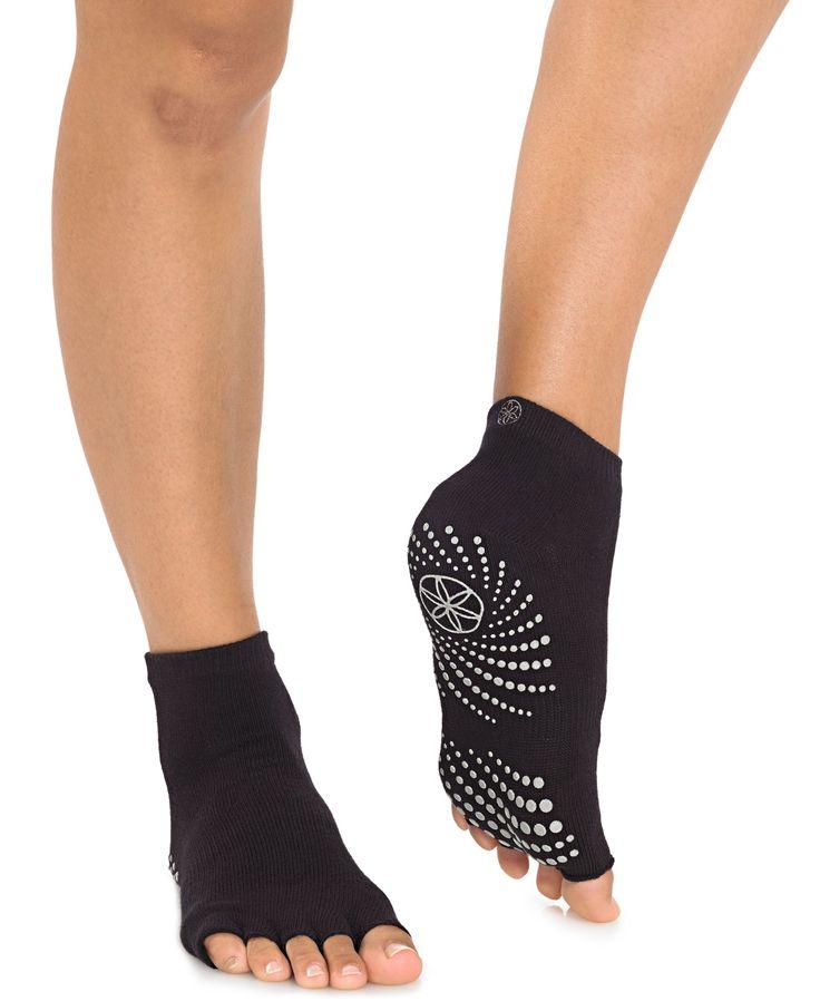 Gaiam Grippy No-Slip Yoga Socks