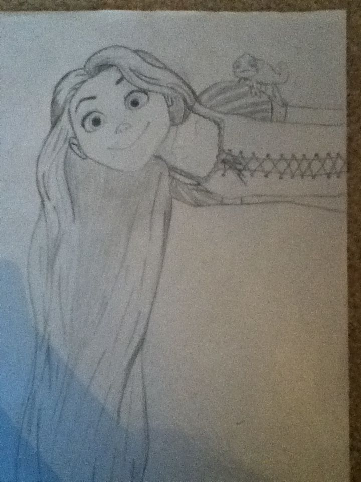 42 best easy hard draw images on pinterest disney for Easy drawings that look hard