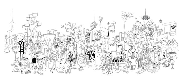 Composition of objects Diaporama