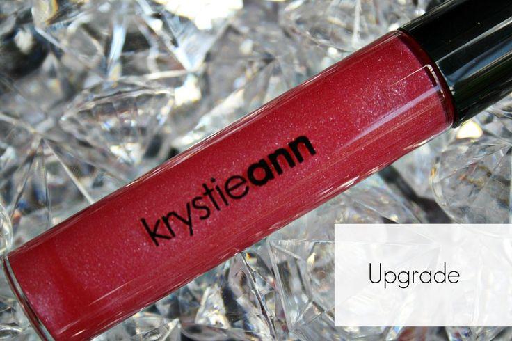 Krystie Ann Cosmetics: Lip Gloss  Shade: Upgrade  Price: $15  Lip gloss, makeup, cosmetics, pink gloss, pink lips, bridal lips, bridal gloss  www.krystieann.com