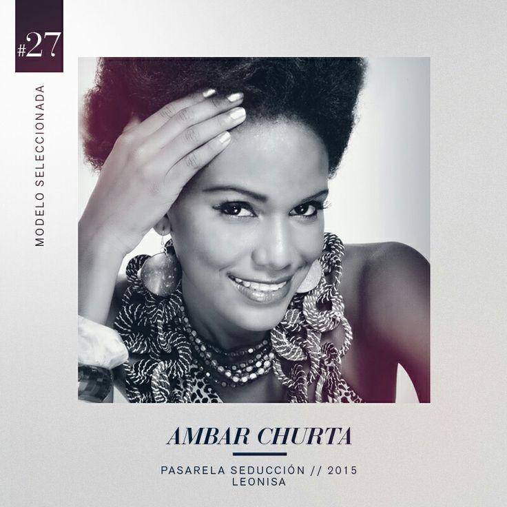 Con una desbordante sensualidad y una belleza sin límites, la hermosa afro Ambar Churta es nuestra seleccionada #27 en el grupo de 30 modelos seleccionadas para la pasarela Seducción Leonisa 2015.  #DesnudaTuAlma #Colombiamoda #LeonisaSpirit #MadeInHeavenProductions