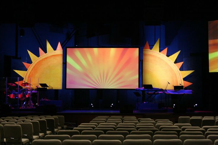 Sunny Side Up stage | Stage Designs | Pinterest