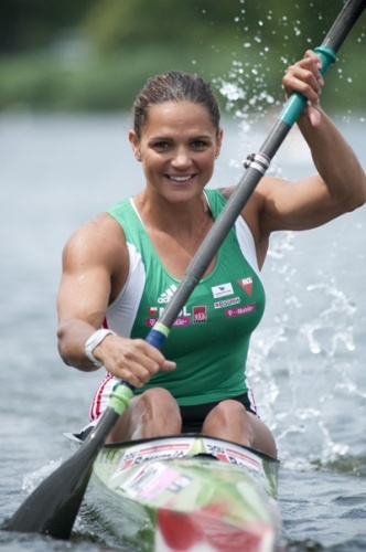 Katalin Kovács is a Hungarian sprint canoer ( kayaker) won six medals with two golds on Olympics and 40 medals at Kayak World Championships including 31 golds    (WOW)