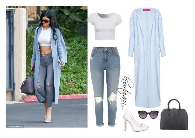 Steal her style: Kylie Jenner by kourtniann on Polyvore featuring polyvore, fashion, style, River Island, Missguided, MANGO, clothing, KylieJenner and CelebrityStyle