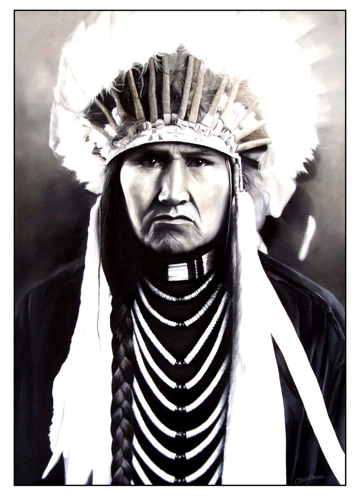 Free coloring page coloring-adult-native-american-indian-chief-2