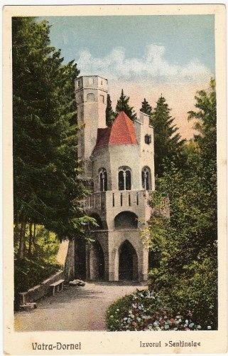 Vatra Dornei - Izvorul Sentinela - interbelica