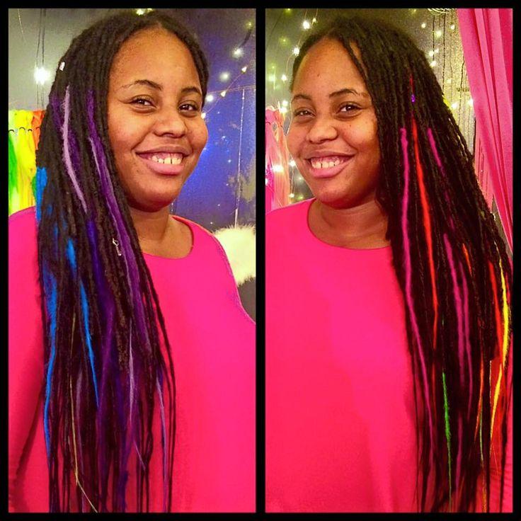 Rebel Rebel Organic Hair and Dreadlock Salon | Dreadlocks, natural crochet dreadlocks, dreadlock salon philadelphia, women with dreadlocks, long dreadlocks, rainbow dreadlocks