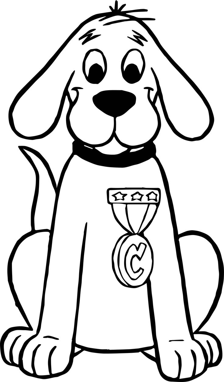 14++ Clifford puppy coloring pages info