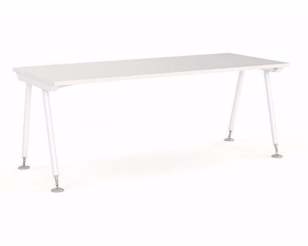 OLG Cosmic Straightline Desk U2013 Dunn Furniture