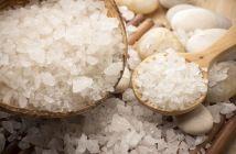 Beneficios de la sal marina para la salud