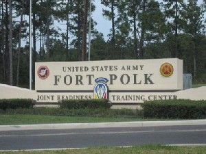 Fort Polk, Louisiana  A lot of folks from all over the United States have passed through this military base near my home in Louisiana.