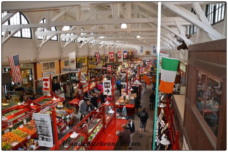 Review of the City Market in Saint John, New Brunswick, Canada.