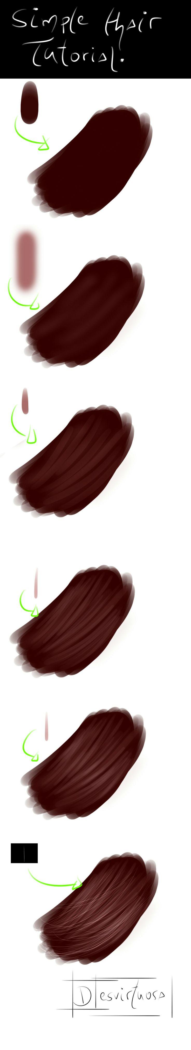 Simple Hair Tutorial                                                                                                                                                                                 More