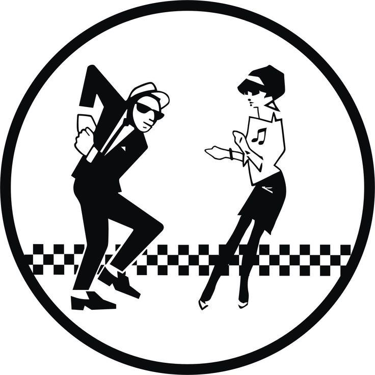 ska man amp beat girl vinyl car sticker decal large 2