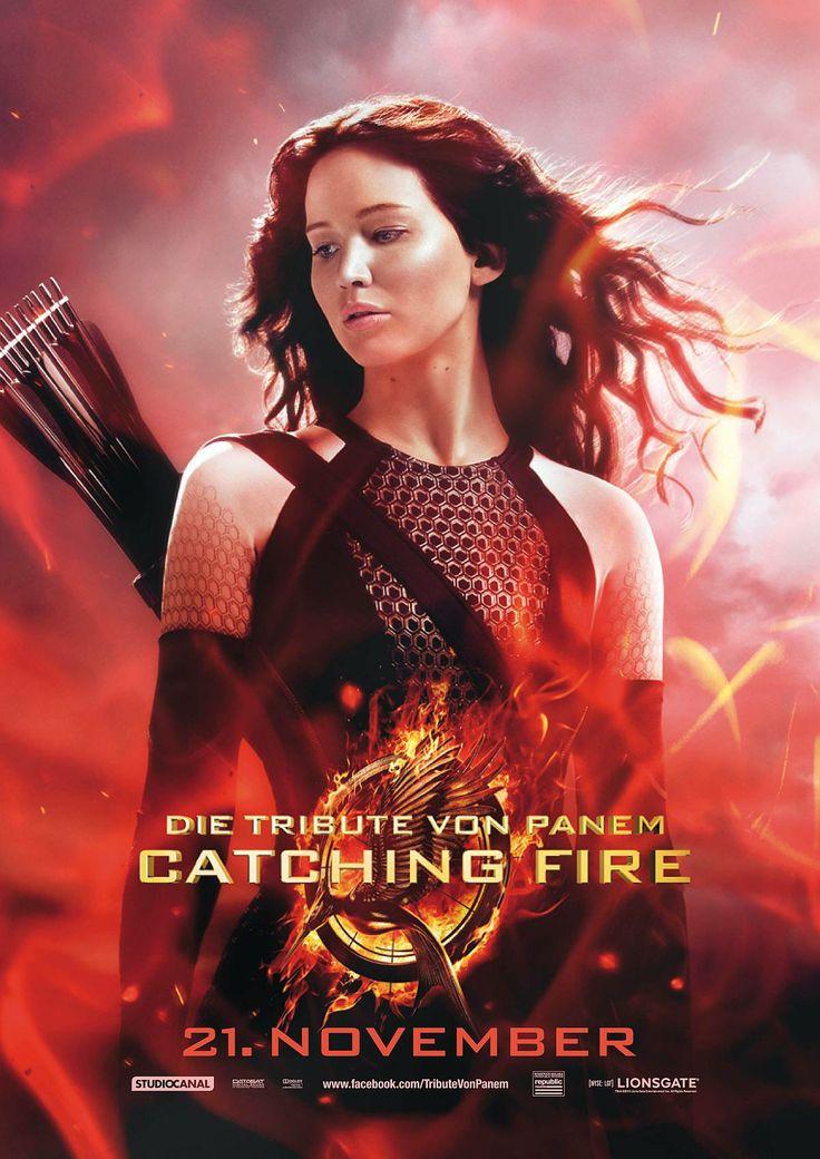 Die Tribute von Panem - Catching Fire Katniss Everdeen Poster